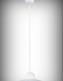 Ada függeszték D30 E27 60W, fehér RA 1844