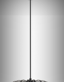 Alessandra függ. E27 1x60W,matt fekete RA 2156