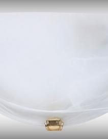 Alabastro falikar E27 60W fehér /arany/ RA 3001