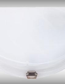 Alabastro falikar E27 60W fehér /króm/ RA 3002