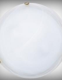Alabastro mennyD40 E27 2x60Wfehér/arany RA 3301