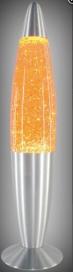 Glitter mini lávalámpa E14 15W sárga RA 4118