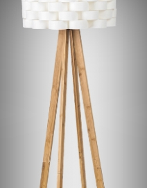 Andy álló,E27 1x60W,fehér,bambusz RA 4181