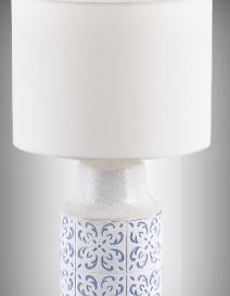 Agnes kerámia asztaliE27 1x40W,fehér/kék RA 4309