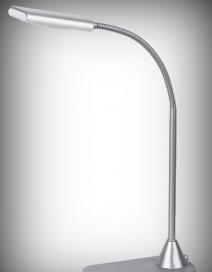 Edward asztali lámpa LED 6W, ezüst RA 4448