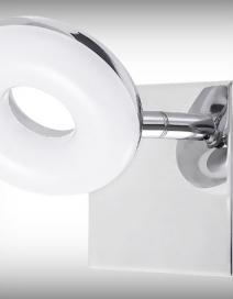 Beata fürdőszobai szpot LED 5W króm RA 5716