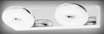 Beata fürdőszobai 2-es spot LED 2x5W kr RA 5717