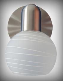 Aurel 1-es szpot E14 1x40W sz.kr opál RA 6341