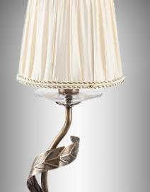 Claudia asztali lámpa E14 max 40W bronz RA 7280