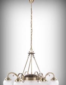 Annabella 6ágú csillár E14 6x40W bronz RA 8636