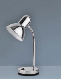 Clark asztali lámpa E27 40W króm RA 4255