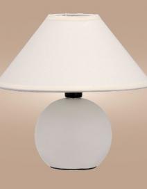Ariel kerámia asztali E14 40W, fehér RA 4901