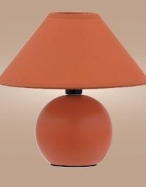 Ariel kerámia asztali E14 40W, narancs RA 4904