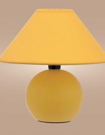 Ariel kerámia asztali E14 40W, sárga RA 4905