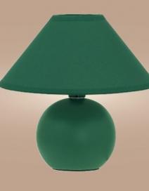 Ariel kerámia asztali E14 40W, zöld RA 4907